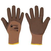Защитные перчатки GRIZZLY FULL латекс, размер 9, RWGF9 BRADAS POLAND