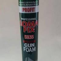 SOMA FIX піна монт.(проф Profit 800 ml. зима)