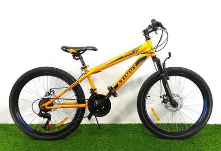 """Спортивний велосипед 26 дюймів Azimut Extreme GFRD рама 14"""" ORANGE, фото 2"""