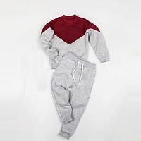 Костюм для дома (джемпер + штаны) Little Bunny с начесом L Кораллово-Серый (1111114)