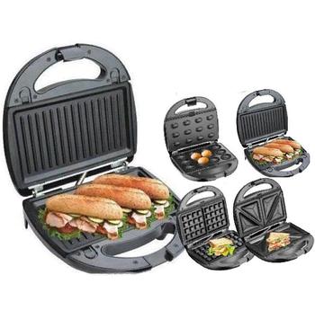 Орешница, бутербродница, вафельница, гриль - 4в1 Livstar LSU-1219