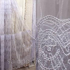 "Гардина Тюль для зала Фатин Турция "" КОРД "" Фатин"