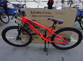 "Спортивный велосипед 26 дюймов Azimut  Extreme FRD рама 14"" RED, фото 3"