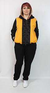 Турецкий женский прогулочный костюм в спортивном стиле, размеры 52-64