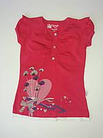 Летняя футболка для девочки, фото 1