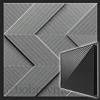Форма 3D панелей Fields / Поля №1 - формы из АБС пластика для гипсовых декоративных панелей, фото 1