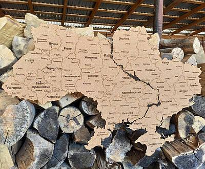 Пробковая карта Украины