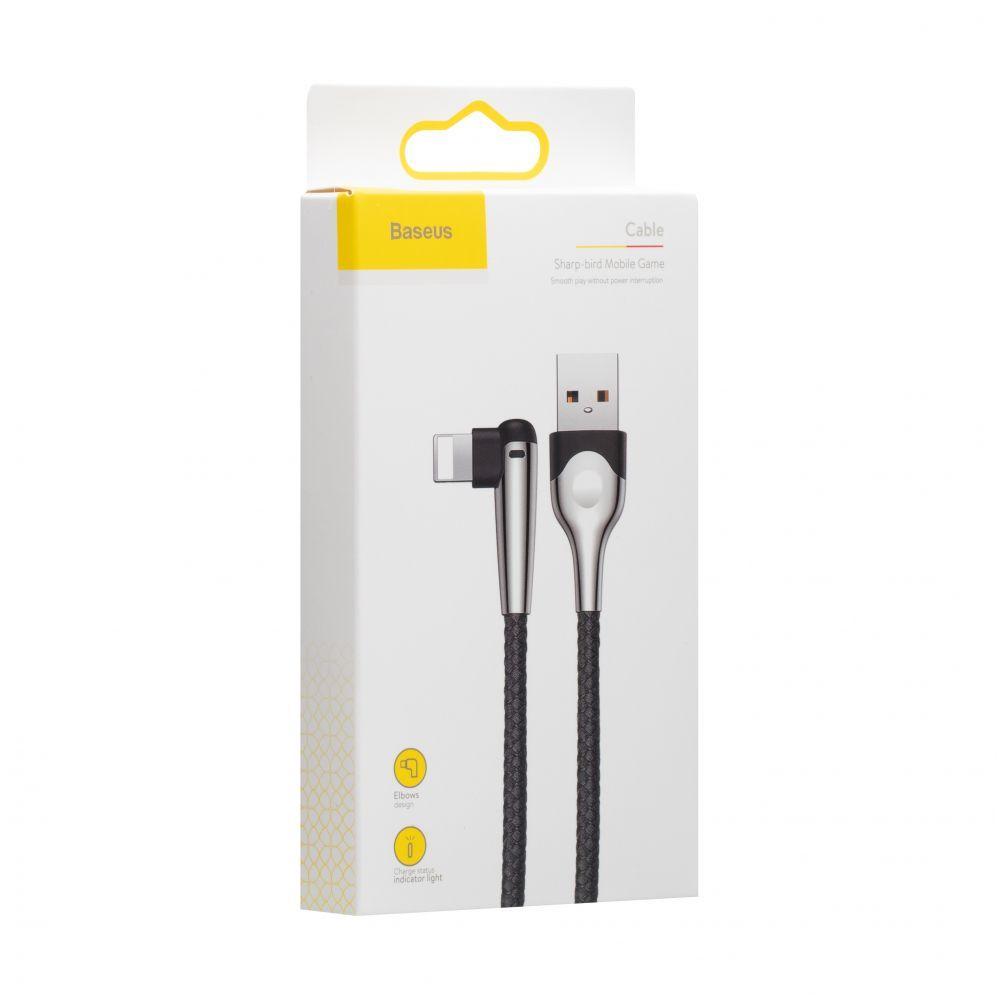 USB кабель Baseus CALMVP-E Lightning (2м, черный)