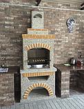 Вуличний камін-барбекю Манчестер, фото 2