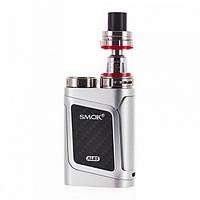 Стартовый набор Smok AL85 Kit Silver Электронная сигарета атомайзер TFV8 Baby Tank Серебро