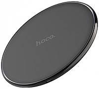 Универсальное беспроводное зарядное устройство для смартфона Hoco CW6 Original Homey (1A) Беспроводная зарядка Чёрная