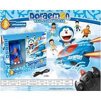 Радиоуправляемая игрушка Wall Climber Антигравитационная детская машинка ездит по стенам и потолку Doraemon