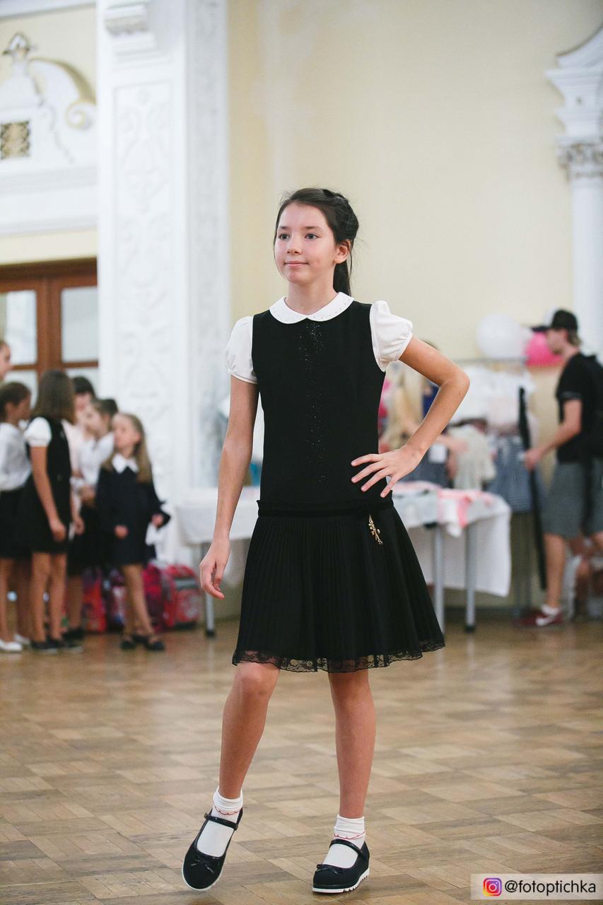 Школьный сарафан для девочки Школьная форма для девочек MONE Украина 1295