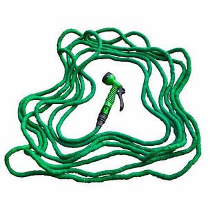 Растягивающийся шланг TRICK HOSE 7,5-22 м, зеленый, WTH722GR BRADAS POLAND, фото 2