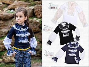 Школьная блузка для девочки Школьная форма для девочек MONE Украина 1303-2