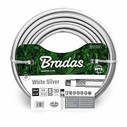 Шланг для полива NTS WHITE SILVER 3/4 - 30м, WWS3/430 BRADAS POLAND