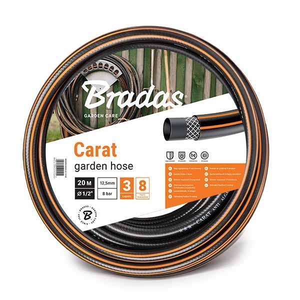 Шланг для полива CARAT 1/2 30м, WFC1/230 BRADAS POLAND