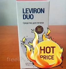 Левирон Дуо Leviron Duo капли для очищения печени, официальный сайт