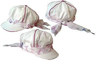 Дитяча кепка для дівчинки BRUMS Італія 131BGLA004 Білий