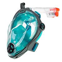 Повна маска Marlin Vision Grey/Green (S-M)