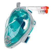 Повна маска Marlin Vision White/Green (S-M)