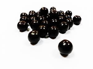 Хрусткі кульки з чорним шоколадом 16 мм Eurocao 6 кг, фото 2