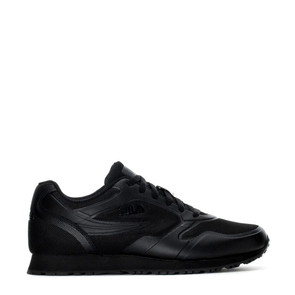 Фирменные черные летние кроссовки Fila Forerunner 1cm00047-001 44 размер