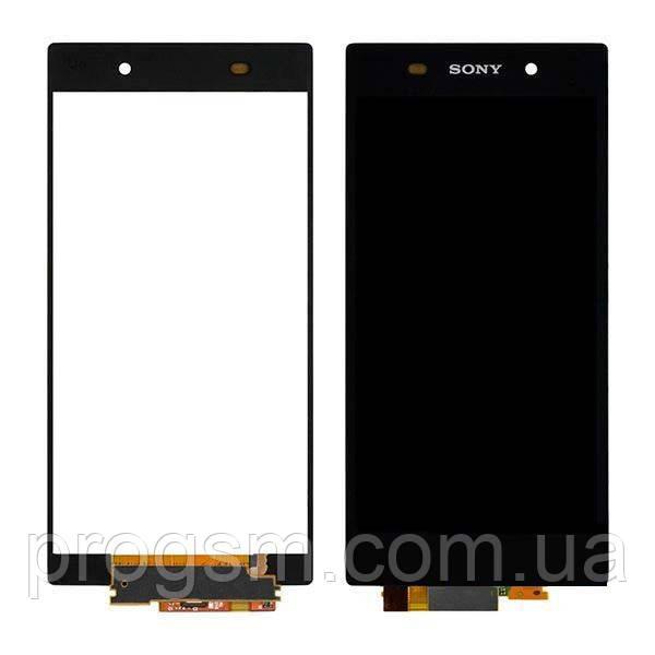 Дисплей Sony Xperia Z2 D6502 / D6503 complete Black