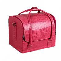 Кейс - чемодан для мастера Розовый крокодил