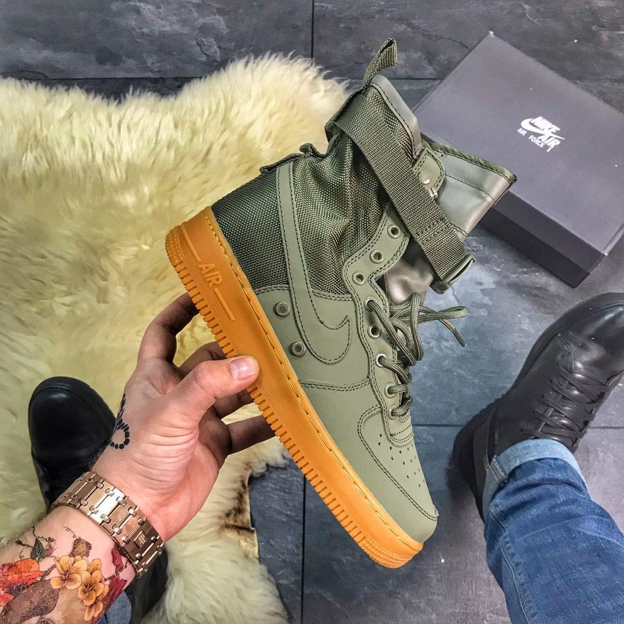 Женские кроссовки Nike Air Force Special Field Brown