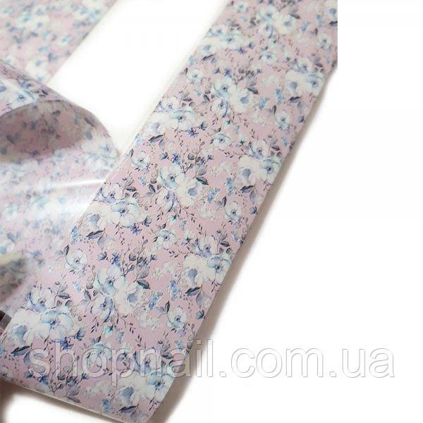 Фольга для ногтей Цветы вишни (50 см)