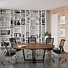 Стіл для переговорів D-2000 Loft design Горіх Модена