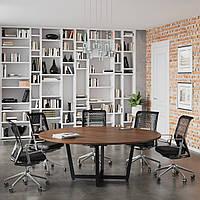Стіл для переговорів D-2000 Loft design Горіх Модена, фото 1