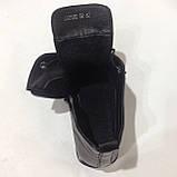 39,40 р. Женские кожаные закрытые туфли-полуботинки на шнурках красивые модные, фото 4