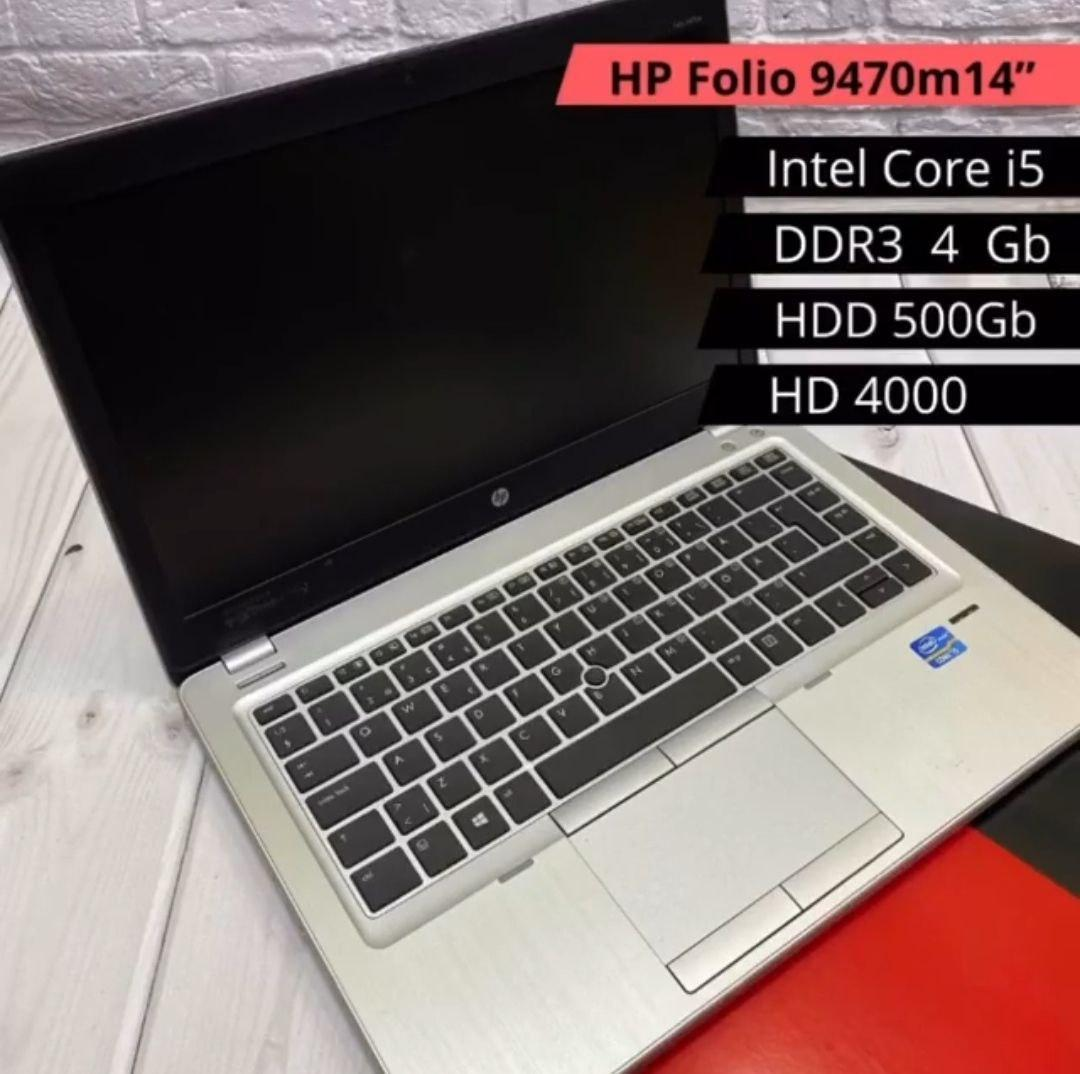 НОУТБУК HP Folio 9470m 14(i5-3337U / DDR3 4GB / HDD 500GB / HD 4400)