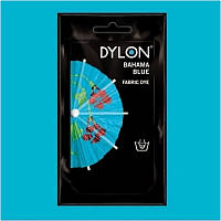 Краска для окрашивания ткани вручную DYLON Hand Use Bahama Blue