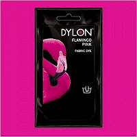 Краска для окрашивания ткани вручную DYLON Hand Use Flamingo Pink