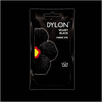 Краска для окрашивания ткани вручную DYLON Hand Use Velvet Black