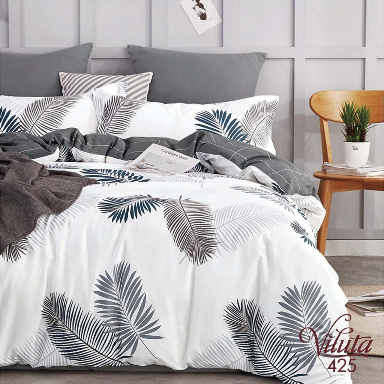 Комплект постельного белья сатин 425 Viluta Двухспальный