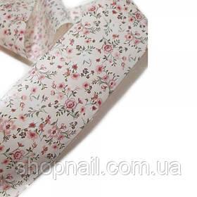 Фольга для нігтів Квіточки на гілці (50 см)