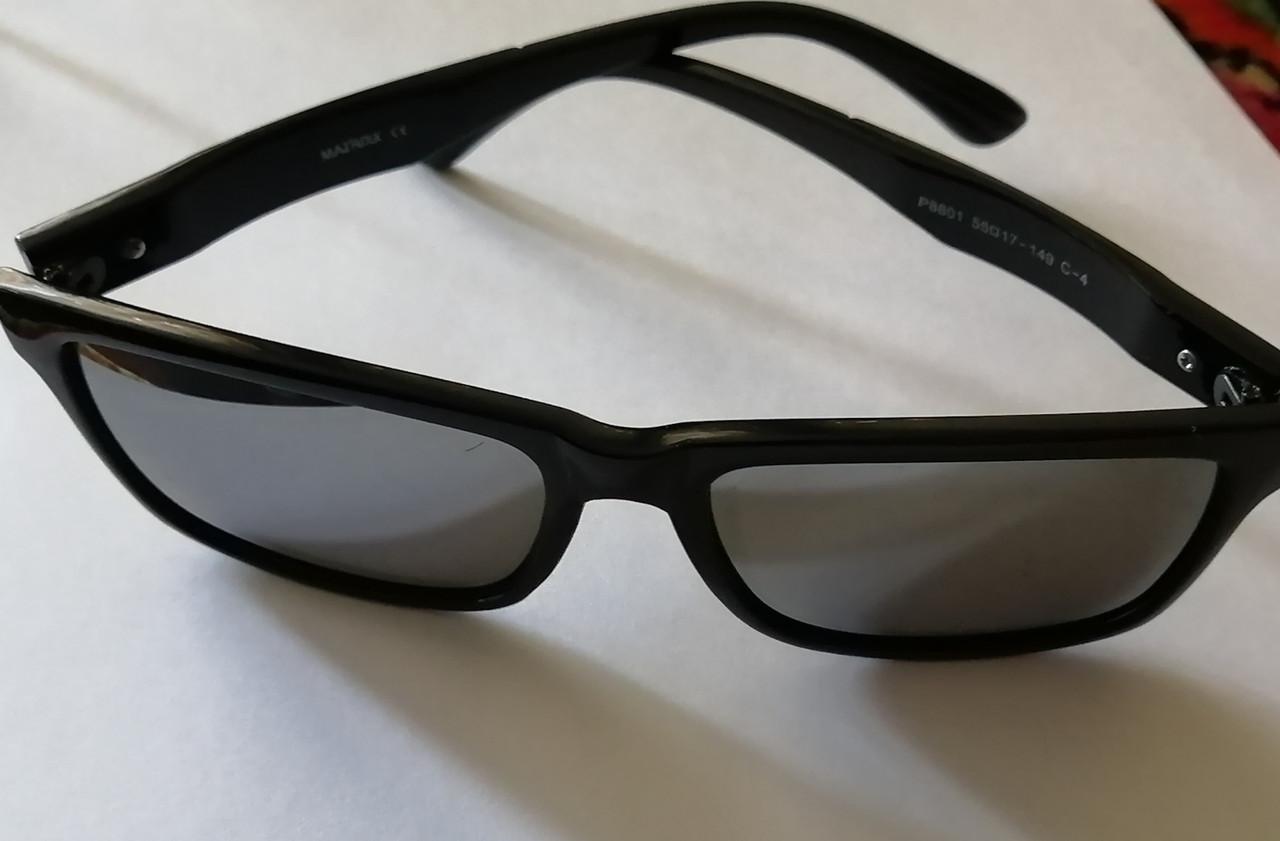 Солнцезащитные очки универсальные, зеркальные, Рей Бен с полароидной линзой
