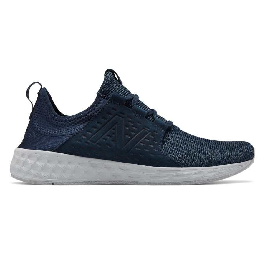 Оригинальные синие летние кроссовки New Balance Fresh Foam Cruz MCRUZNN