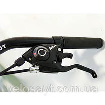 "Спортивный велосипед 26 дюймов Azimut Forest FRD рама 13"" BLUE, фото 3"