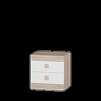 Спальня Соната комплект 9 Эверест Дуб Сонома + Белый