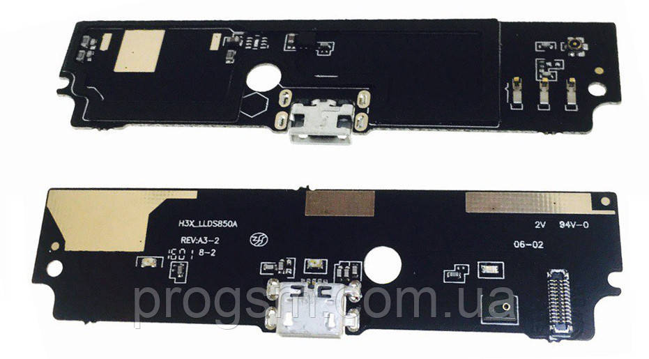 Разъем зарядки Xiaomi Redmi Note 4G (с платкой) dual SIM