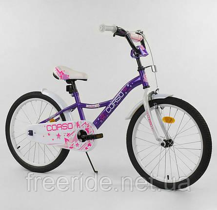 """Детский Велосипед CORSO 20"""" Girl S, фото 2"""