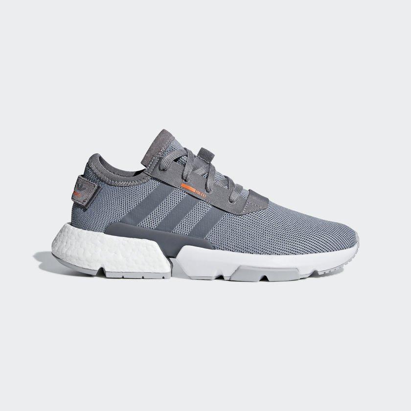 Оригинальные кроссовки Adidas POD-S3.1 B37365 серые 40 размер