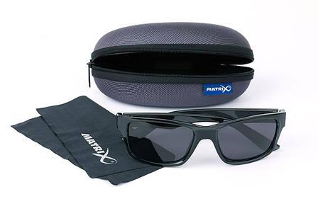 Очки для рыбалки Matrix Glasses - Casual Trans black / grey lense, фото 2