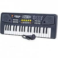 Детский синтезатор (bf-430a2) (микрофон, запись и воспроизведение песен)