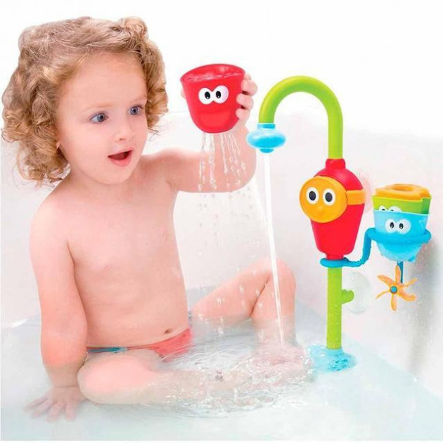 Іграшка дитячий кран душ водоспад Baby Water Toys Ігровий набір для купання ванної чарівний кран